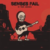 Senses Fail - In Your Absence LP (Maroon/Black Smash)