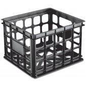 Sterilite Storage Crate (Black)