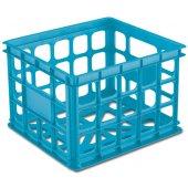 Sterilite Storage Crate (Blue)