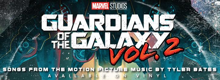 Guardians Of The Galaxy Vol. 2 Vinyl